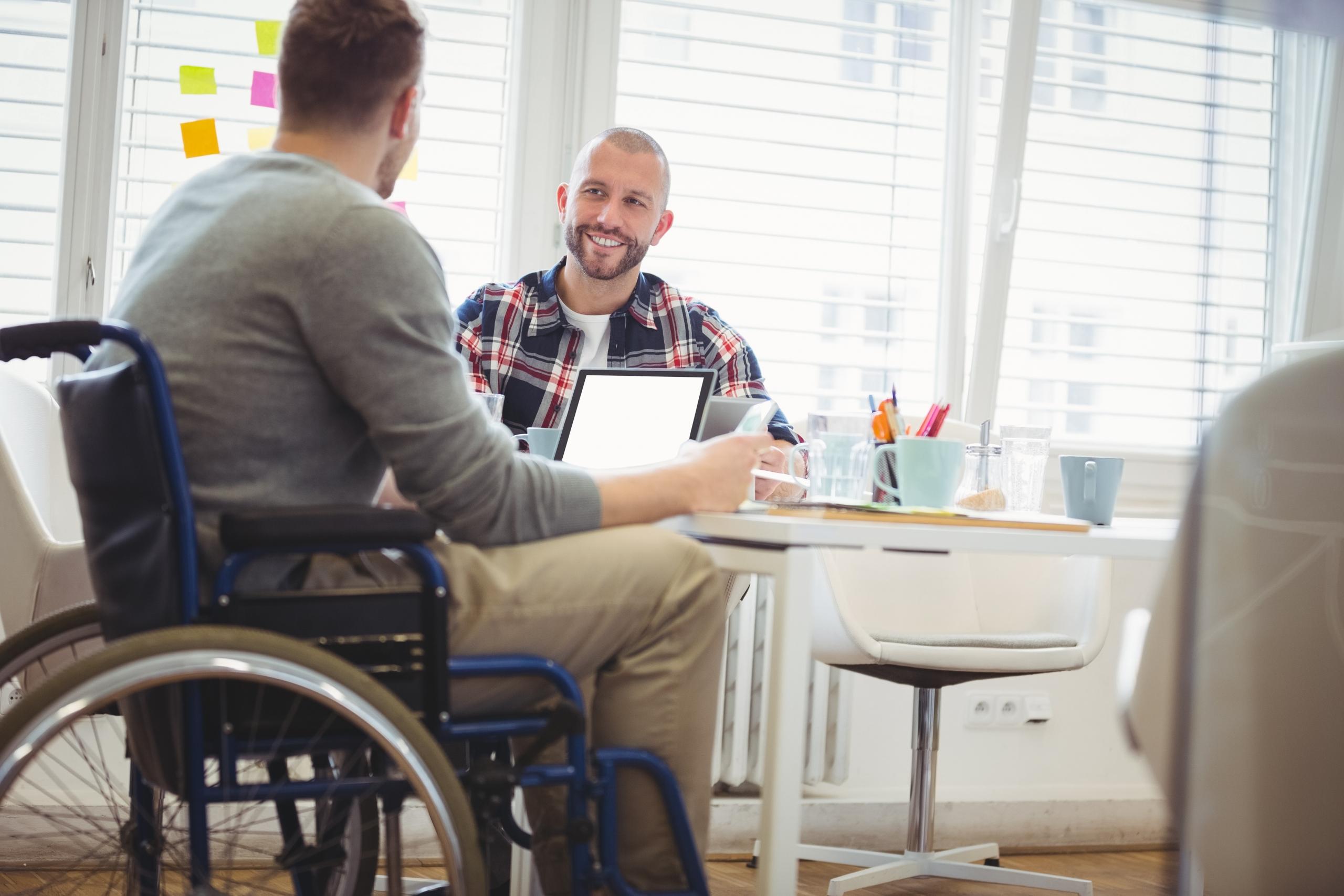 Entrevista de trabajo discapacitado