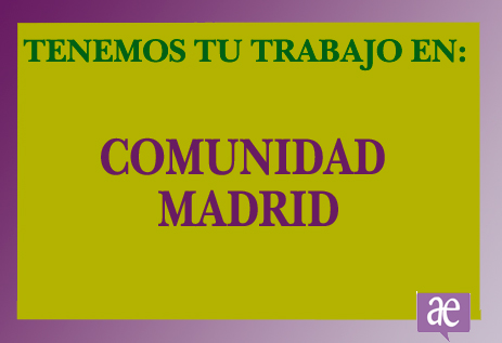 TRABAJO EN COMUNIDAD-MADRID