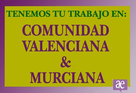 TRABAJO EN COMUNIDAD-VALENCIANA-&-MURCIANA