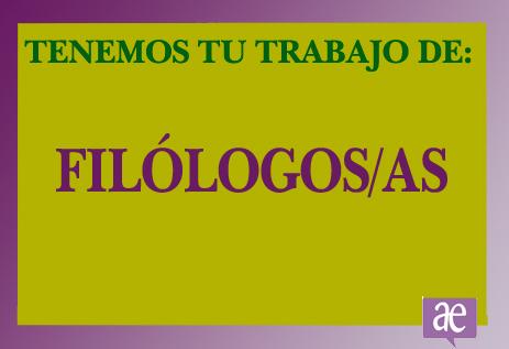 empleo profesion filologos