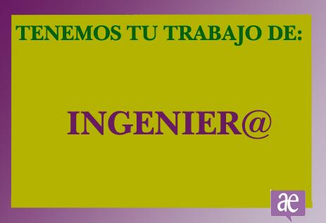 profesión ingeniero